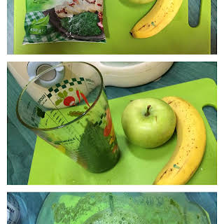 Apple Banana Spinach Smoothie Recipes.