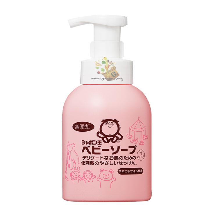Shabondama Baby Liquid Soap (400ml)泡泡玉婴儿浴液 by Green Surprise Enterprise
