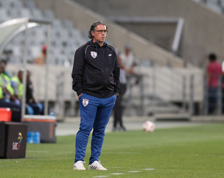 Free State Stars coach Nikola Kavazovic is looking to strengthen his defence.