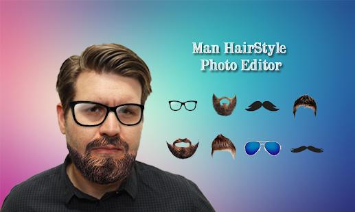 Man Beard Photo Editor Mustache Hairstyle Changer Slunenice