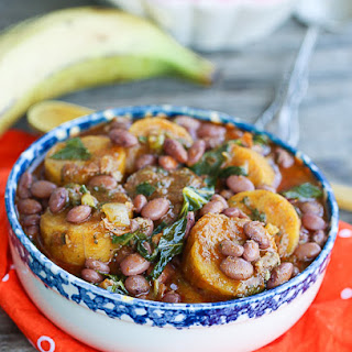 Plantains and Beans