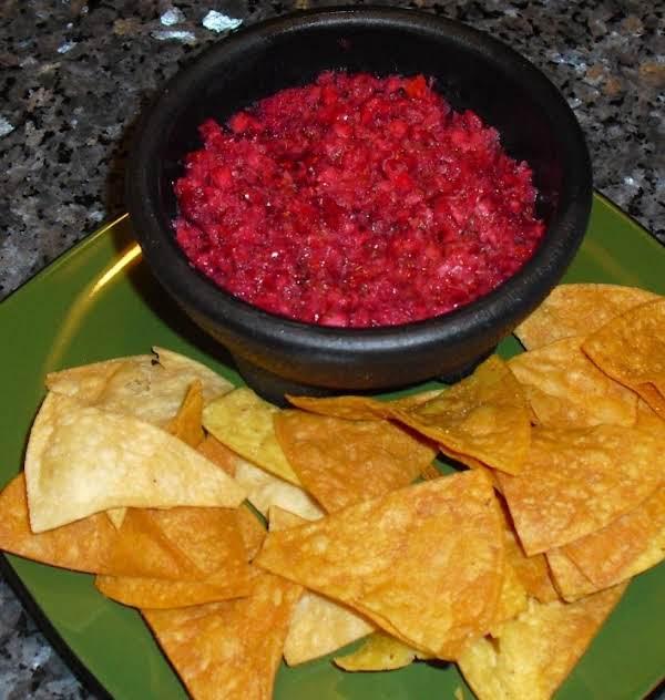 Fruity Tomato-cranberry Salsa