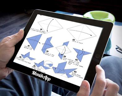 Jednoduché origami tutoriály - náhled