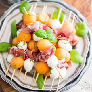 Prosciutto Melon Skewers Recipe