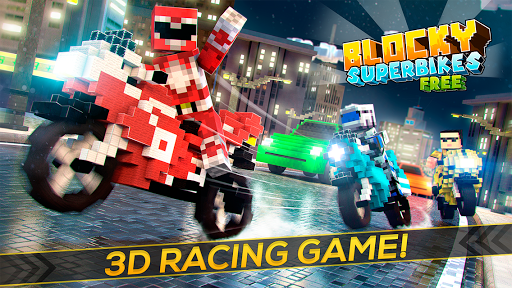 Blocky Superbikes Race Game for PC