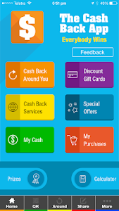The Cash Back App (TCBA) screenshot 0