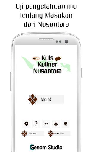 Kuis Kuliner Nusantara