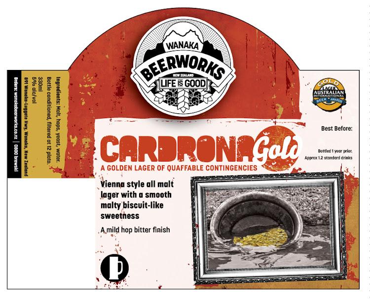 Logo of Wanaka Beerworks Cardrona Gold