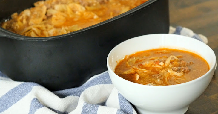 Un-Stuffed Cabbage Roll Soup Recipe