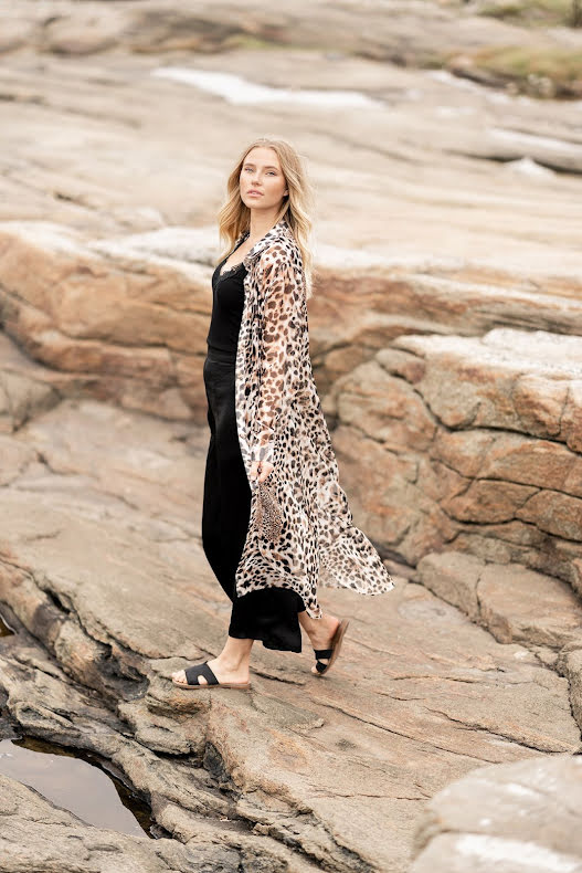 Serena Long Shirt leoprint