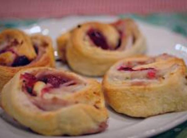 Turkey Cranberry Pinwheels Recipe