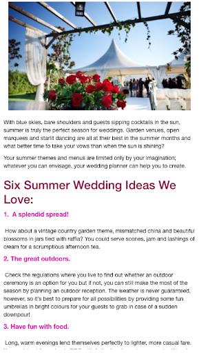 Wedding Ideas Planner Advice