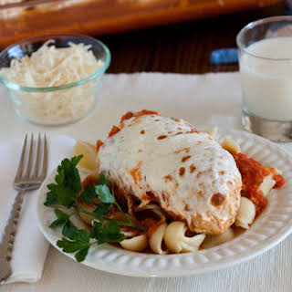 Marinara Chicken with Melted Mozzarella.