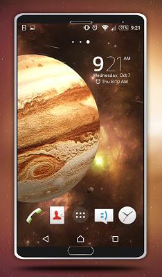 Jupiter Live Wallpaper - screenshot