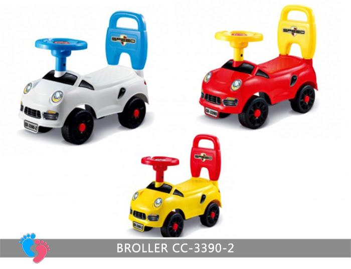 Chòi chân ô tô cho bé Broller CC-3390-2 2