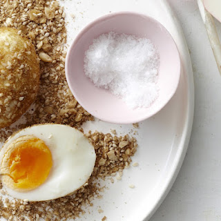 Hazelnut Dukkah Eggs