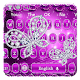 Temptation purple rose diamond butterfly APK