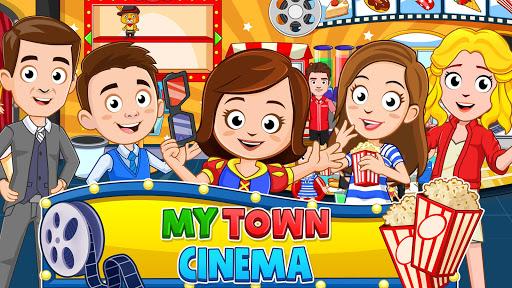My Town : Cinema. Fun Movistar Kids Movie Night  screenshots 1