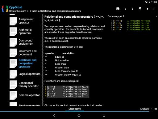 CppDroid - C/C++ IDE 3.3.3 screenshots 10