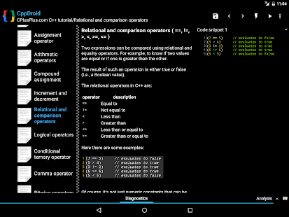 CppDroid - C/C++ IDE- screenshot thumbnail