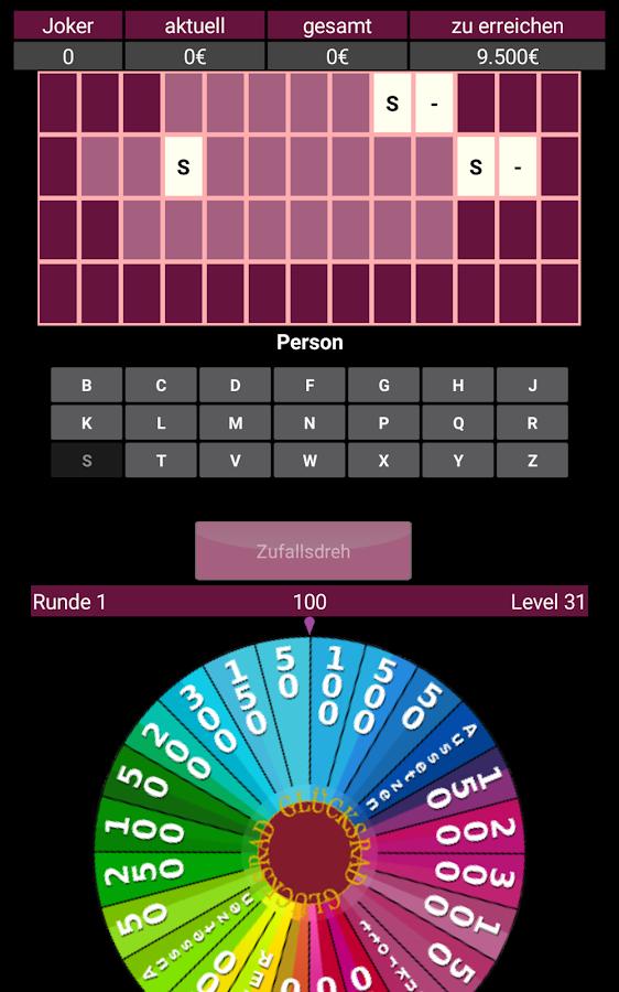 Glücksrad App