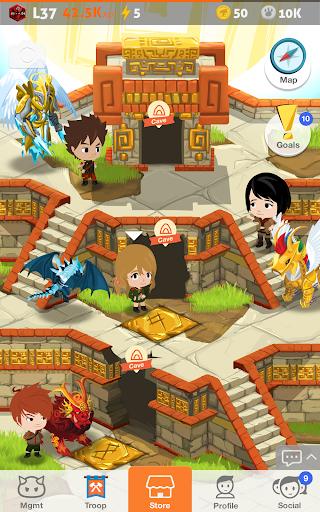 Battle Camp - Monster Catching screenshot 13