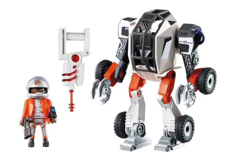 Contenido Real de Playmobil® 9251 Agente General con Robot