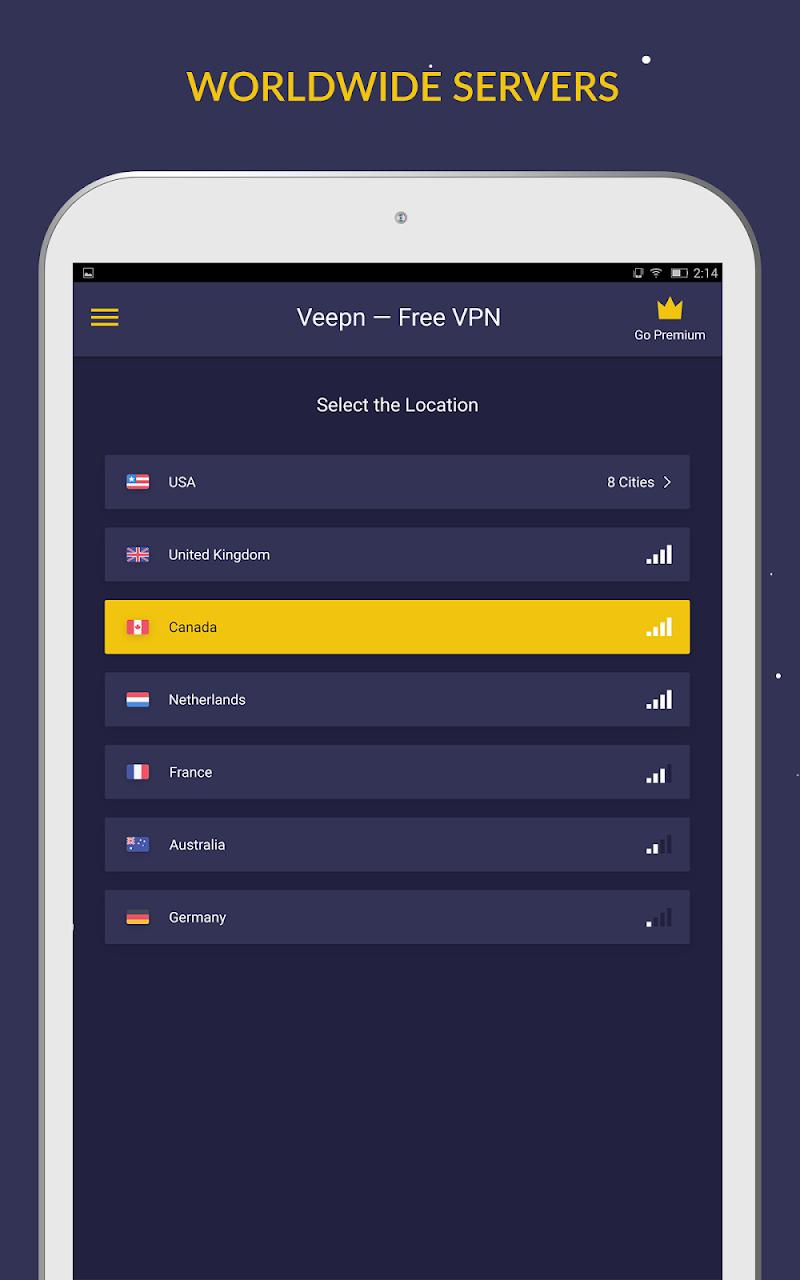 Free VPN by Veepn Screenshot 8