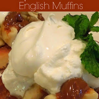 Banoffee English Muffins.