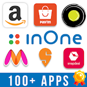 Shopping, Cabs, Recharge, Food, Offers - inOne