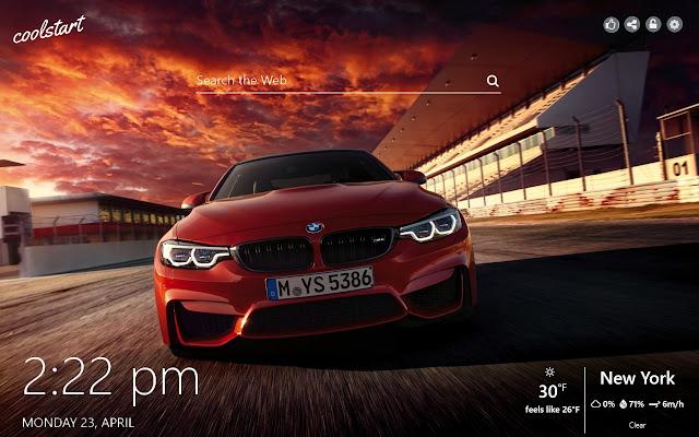 BMW M-Power HD Wallpapers Sports Cars Theme