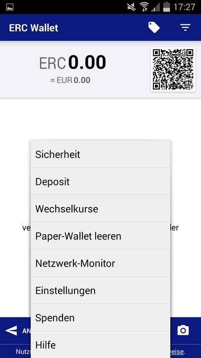 Europecoin Term Deposit Wallet- screenshot