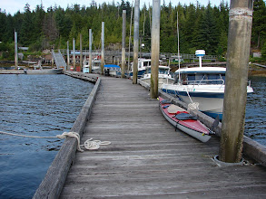 Photo: The dock in Myers Chuck.