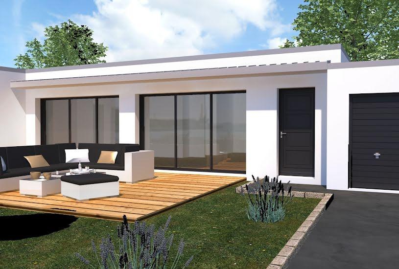 Vente Terrain + Maison - Terrain : 450m² - Maison : 120m² à Nivillac (56130)