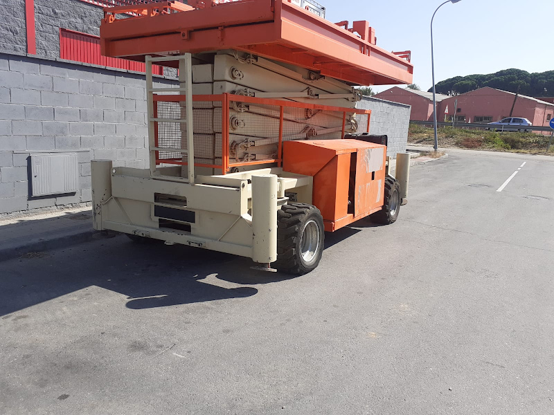 Picture of a HOLLAND LIFT B-195DL25 4WD/P/N