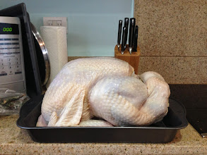 Photo: Being our very first time hosting Thanksgiving and attempting to cook a turkey, I wasn't quite sure what to do. Jes suggested a great overnight brine recipe - and the rest was easy!