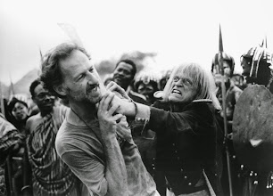 Photo: Werner Herzog e Klaus Kinsky: relação conflituosa.  http://filmesclassicos.podbean.com