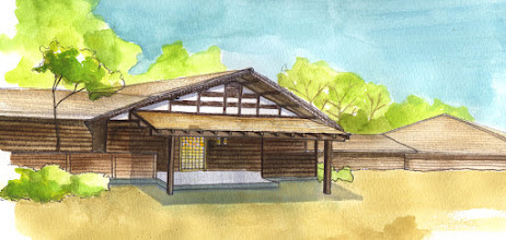 Photo: ハートランドヒルズ12[数寄屋造りの家] 完成イメージ