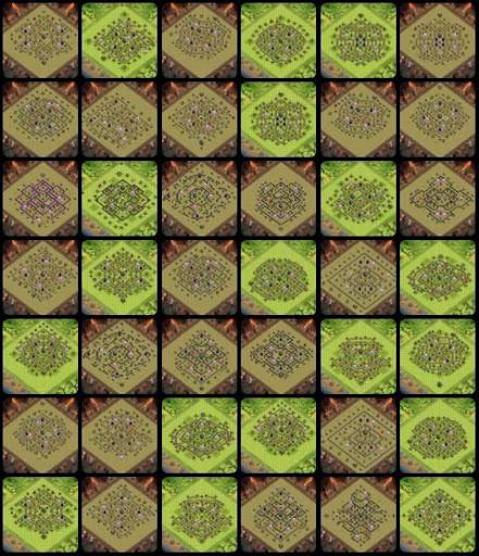 Base Maps COC th9 2.0 screenshots 2