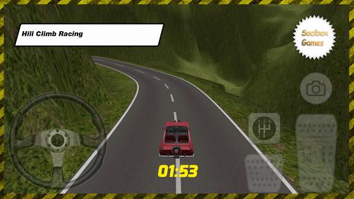 跑车爬坡3D