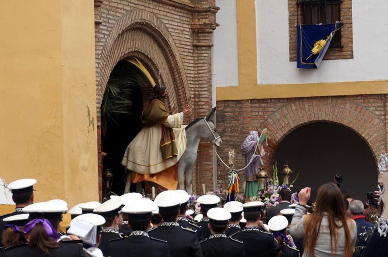 procesión de la borriquita de Zafra