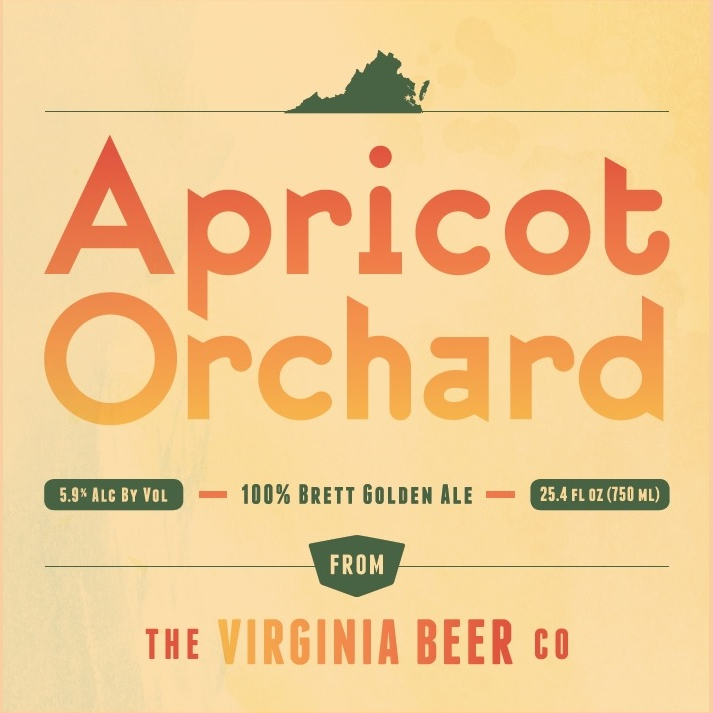Logo of Virginia Beer Co. Apricot Orchard Brett Golden Ale