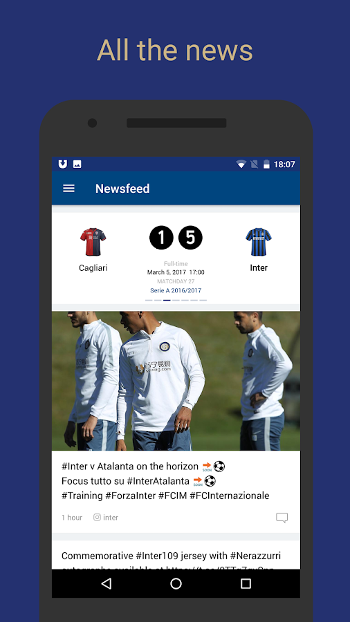 Inter Live — Inter FC News- screenshot