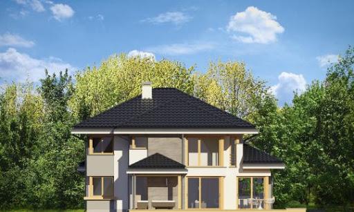 Dom z widokiem 3 - Elewacja lewa