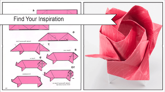 Simple Origami Folding Step by Step - náhled