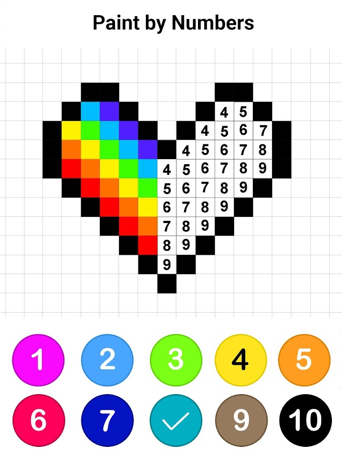 Colors by Number ® - No.Draw- screenshot