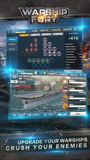 Warship Fury  screenshots 5