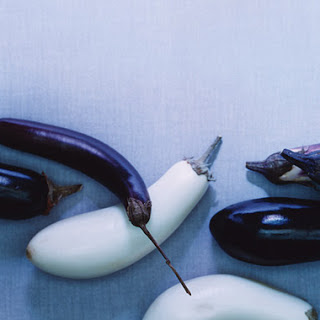 Pasta with Let-My-Eggplant-Go-Free! Puree