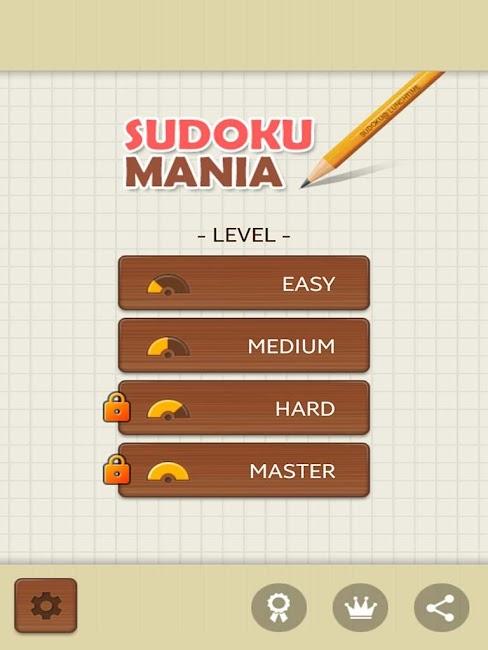 #8. Sudoku Mania (Android)