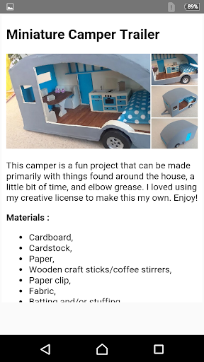 How To Make Dollhouse Furniture App Report on Mobile Action
